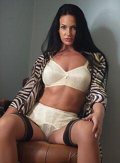 sheer lingerie amateur models
